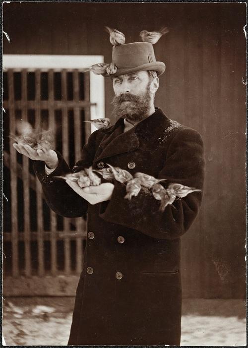 charmeur d oiseaux 1910